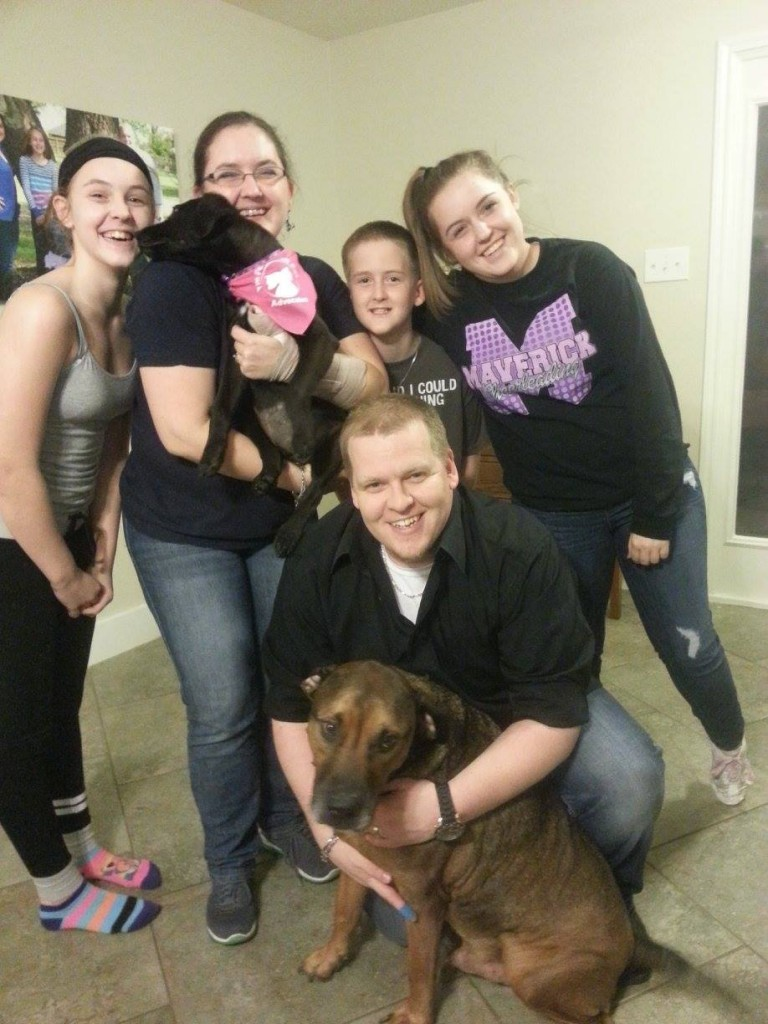 """Kandi"" (now Bella) and her family !"
