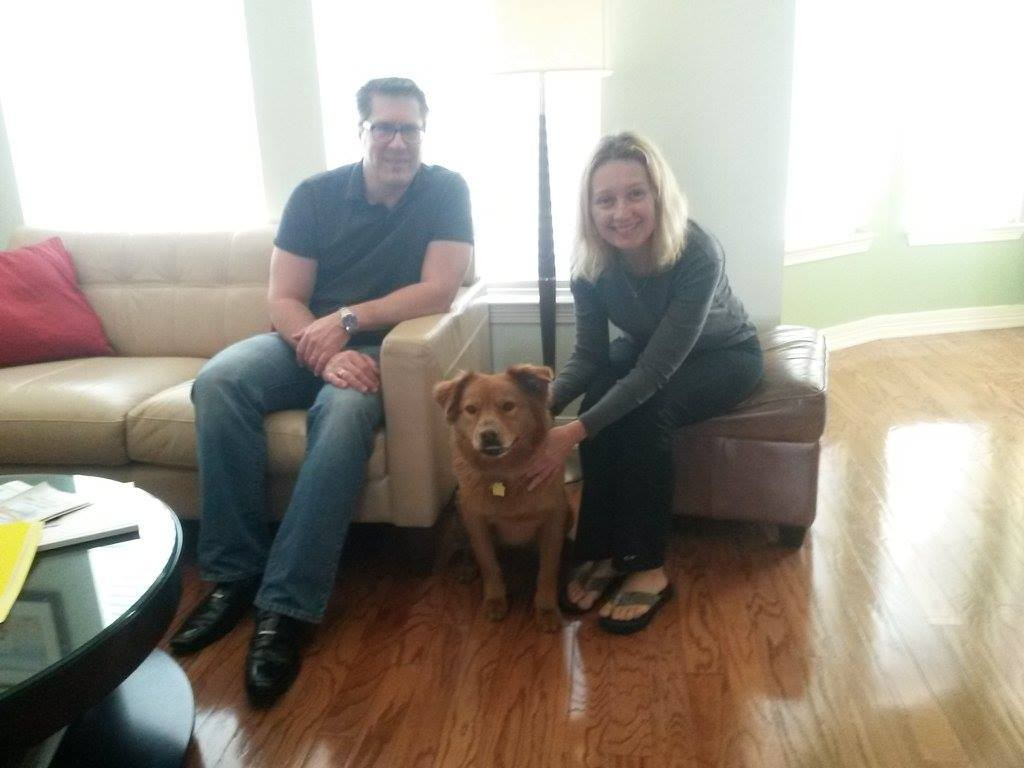 """Stella"" and her Parents !"