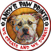 Andy′s Paw Prints will donate 25% of your order to The Forgotten Pet Advocates