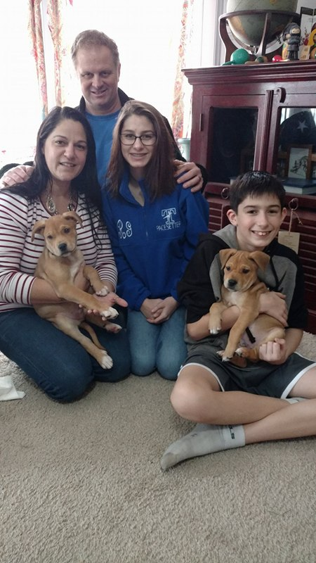 Tony (now Cecile) Tobey (now Mousse) and their Family !